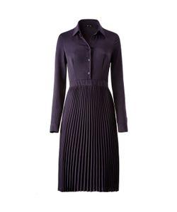R édition | Платье Со Складками И Длинным Рукавом