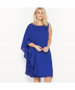 CASTALUNA | Платье Без Рукавов Асимметричное Из Двух Материалов