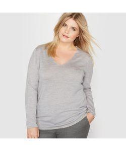 CASTALUNA | Пуловер С V-Образным Вырезом Из 100 Шерсти Мериноса