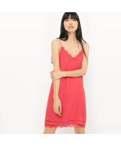 Suncoo | Платье Короткое Однотонное На Тонких Бретелях