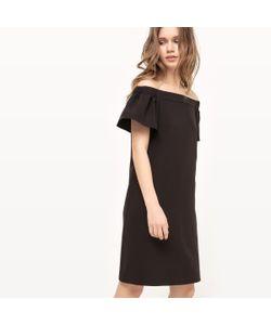R édition | Платье С Верхом В Форме Бандо И Открытыми Плечами
