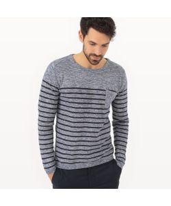 R essentiel | Пуловер В Полоску С Круглым Вырезом