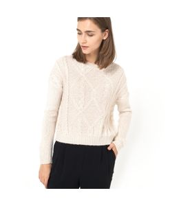 Мини-цена   Пуловер Короткий
