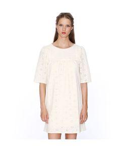 Pepaloves   Платье С Короткими Рукавами Из Английского Кружева Dress Claudia