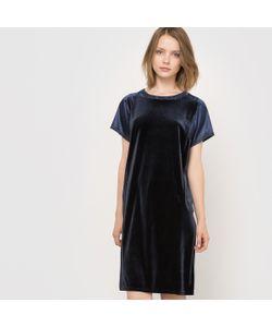 R essentiel | Вечернее Платье Из Двух Материалов