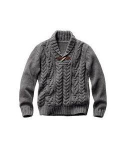 R jeans | Пуловер С Шалевым Воротником 15 Шерсти