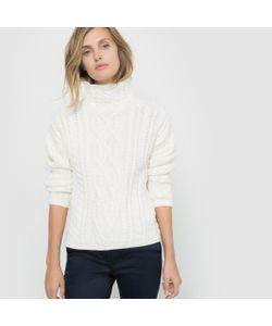 R studio | Пуловер С Высоким Воротником Из Вязаного Трикотажа