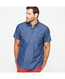 CASTALUNA FOR MEN | Рубашка Из Лёгкого Денима