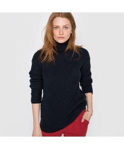 R essentiel | Пуловер С Высоким Воротником И Узором Косы