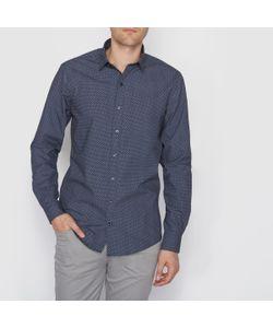 R édition | Рубашка Узкого Покроя С Рисунком С Длинными Рукавами