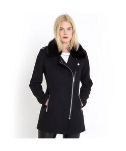 R essentiel | Пальто С Асимметричной Застежкой 50 Шерсти