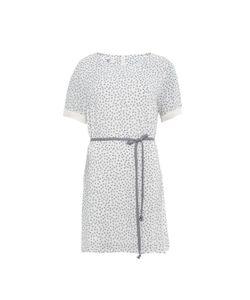 Paramita | Платье С Короткими Рукавами С Принтом И Завязками