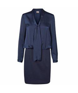 Vero Moda | Платье Короткое С Длинными Рукавами Однотонное