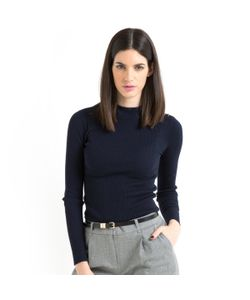 LAURA CLEMENT | Пуловер-Водолазка В Рубчик