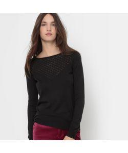 R édition | Пуловер С Круглым Вырезом И Вышивкой