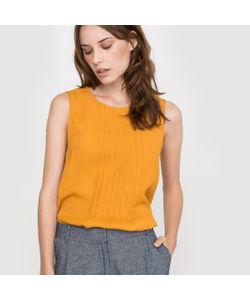 atelier R | Блузка Без Рукавов Со Складками