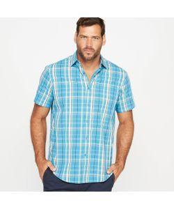 CASTALUNA FOR MEN | Рубашка В Клетку С Короткими Рукавами