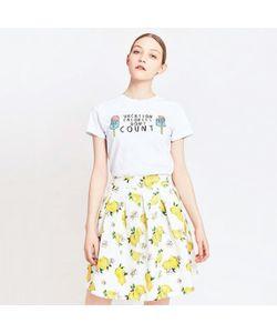 MIGLE+ME   Юбка С Рисунком Лимон