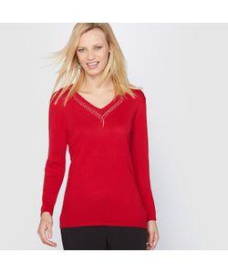 ANNE WEYBURN | Пуловер С Отделкой Бижутерией 10 Laine