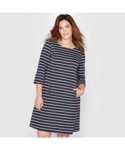 TAILLISSIME | Платье Из Трикотажа С Морским Мотивом