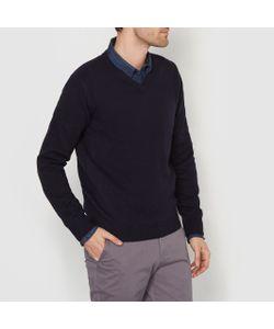 R essentiel | Пуловер С V-Образным Вырезом 100 Овечьей Шерсти