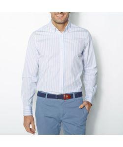 R REFERENCE | Рубашка Прямого Покроя В Полоску 100 Хлопка