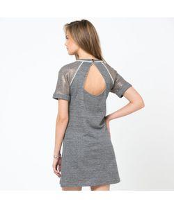 SOFT GREY | Платье С Короткими Рукавами