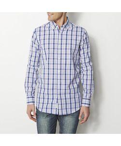 R REFERENCE | Рубашка Прямого Покроя В Клетку 100 Хлопка