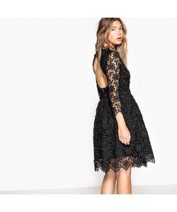 MADEMOISELLE R | Гипюровое Платье С Вырезом Сзади