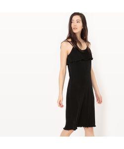 R édition | Платье Плиссированное С Тонкими Бретелями