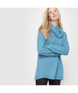 R essentiel   Пуловер Из Кашемира Воротник-Хомут Свободный Покрой