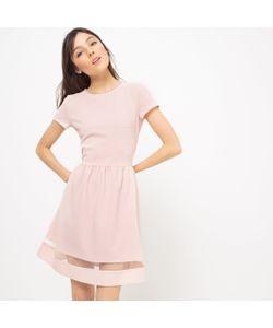MADEMOISELLE R | Платье Однотонное С Короткими Рукавами