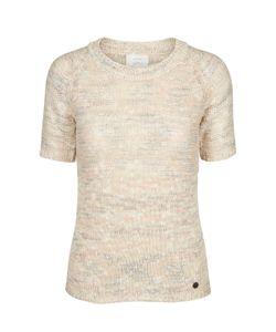 Numph | Пуловер Из Ажурного Трикотажа С Короткими Рукавами