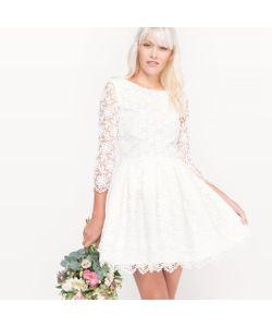 MADEMOISELLE R | Платье Свадебное Короткое Кружевное