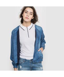 Cimarron | Куртка Короткая В Стиле Бомбер Из Ткани С Имитацией Денима