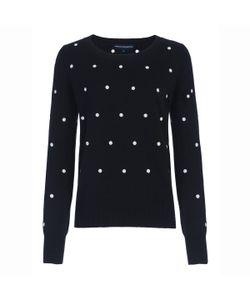 French Connection   Пуловер В Горошек Polka Dot Knits