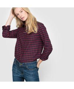 R essentiel | Рубашка В Клетку Из Фланели