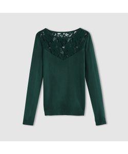 R édition | Пуловер С Кружевом