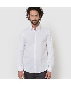 R édition | Рубашка Однотонная Узкого Покроя С Длинными Рукавами