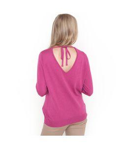 Мини-цена | Пуловер С V-Образным Вырезом Спереди И Сзади