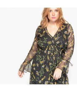 CASTALUNA | Платье Длинное С Длинными Рукавами