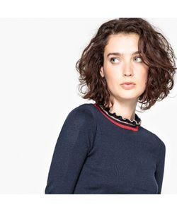 MADEMOISELLE R | Пуловер С Воланами И Декоративными Элементами В Виде Полосок