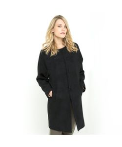 SOFT GREY | Пальто Из Вареной Шерсти