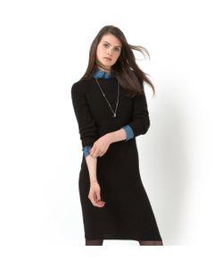 Мини-цена | Платье Из Трикотажа В Рубчик