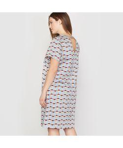 CASTALUNA | Платье С Рисунком И Короткими Рукавами
