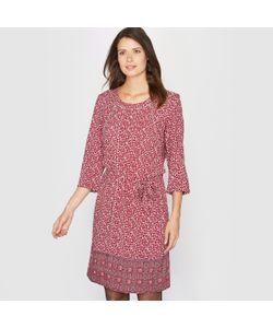 ANNE WEYBURN | Платье С Принтом Струящееся