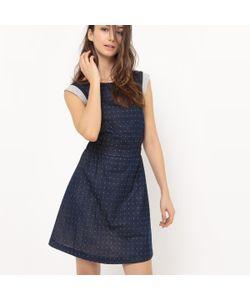 R édition | Платье Расклешенное С Бантиком Сзади