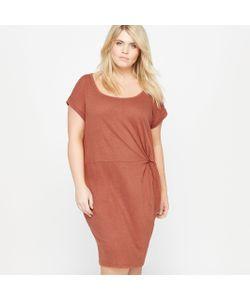 CASTALUNA | Платье С Круглым Вырезом И Короткими Рукавами