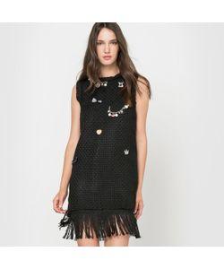 Molly Bracken | Платье Без Рукавов С Бахромой