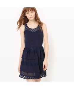 Molly Bracken | Платье Расклешенное Из Кружева С Воланами